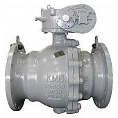 B2TR : 2 Piece Trunnion Ball valve